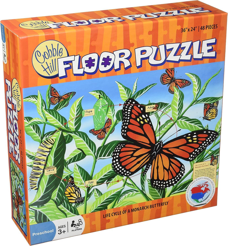 Riesen Boden-Puzzle   Der Lebenszyklus des Schmetterlings Monarch B007HQUXKC Sofortige Lieferung    Qualifizierte Herstellung