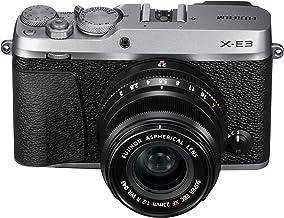 Fujifilm X-E3 Mirrorless Digital Camera w/XF23mmF2 R WR Kit - Silver