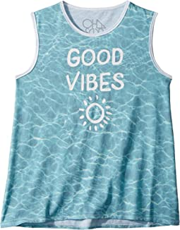 Extra Soft Good Vibes Tank Top (Little Kids/Big Kids)