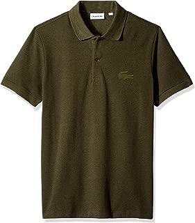 Lacoste Men's Short Sleeve Reg Fit Velvet Croc Polo