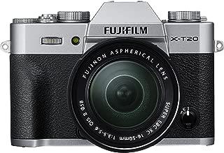 Fujifilm X Series X-T20 Mirrorless Digital Camera (Silver)
