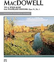 to a wild rose edward macdowell sheet music
