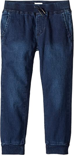 Indigo French Terry Jogger in Cameo Blue (Toddler/Little Kids/Big Kids)
