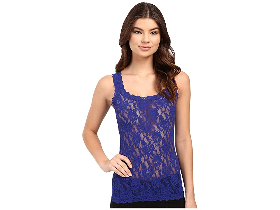 Hanky Panky Signature Lace Unlined Cami (Midnight Blue) Women