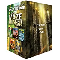 The Maze Runner Series Complete Collection Boxed Set (5-Books)