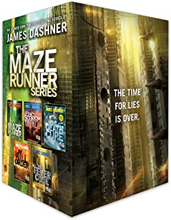 Maze Runner Series Complete Collection Boxed Set (5-Book)
