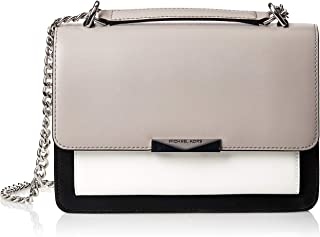 Michael Kors Crossbody for Women- Grey/White/Black