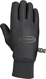 Seirus Innovation 1172 Mens Lightweight Form Fit All Weather Polartec Glove with Soundtouch Touch Screen Technology - TOP SELLER