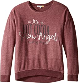 Drop Shoulder Sweatshirt (Little Kids/Big Kids)