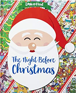 The Night Before Christmas Look and Find - PI Kids