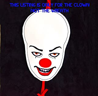 Best it clown halloween wreath Reviews
