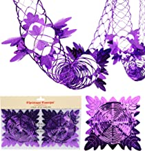 Christmas Concepts Pack of 2 9ft Foil Garland Festive Hanging Decorations - Christmas Decorations (Purple)
