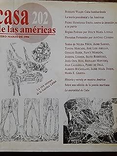 Revista casa de las americas enero-marzo del 1996.numero 202
