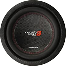 CERWIN VEGA VPRO104D Pro 1400 Watts Max 10-Inch Dual Voice Coil Subwoofer 4 Ohms/700 Watts Power Handling