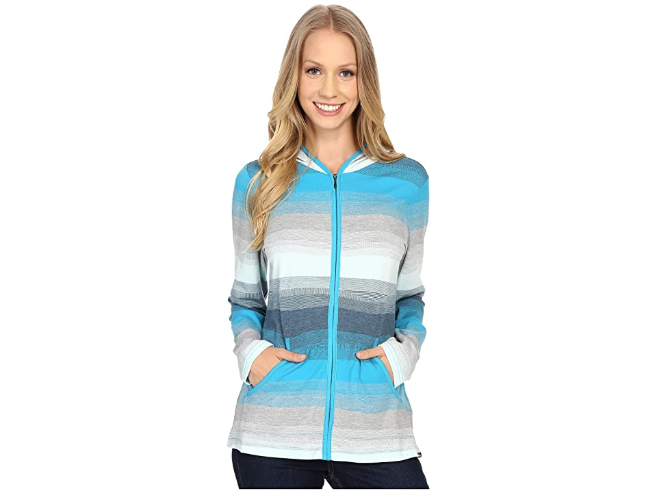 ExOfficio Traversatm Hoody (Deep Sea) Women