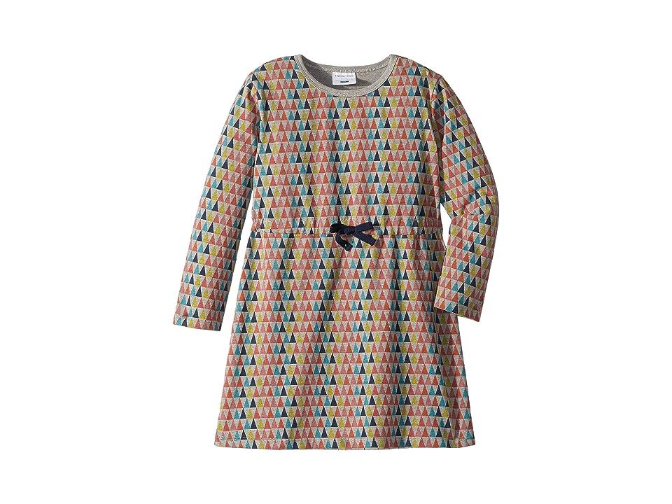 Toobydoo Tie Waist Dress (Toddler/Little Kids/Big Kids) (Multicolor Pyramid) Girl