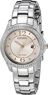 Women's Eco-Drive Silhouette Crystal Watch with Date, FE1140-86X