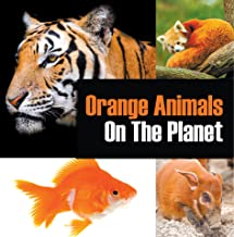 Orange Animals On The Planet: Animal Encyclopedia for Kids (Colorful Animals on the Planet Book 3) (English Edition)