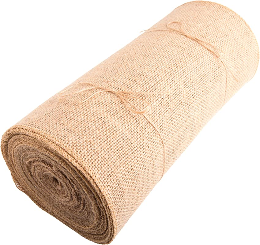 Burlap Table Runners 12 Wide X 12 Yards Long Burlap Roll NO FRAY Rustic Decor Perfect For Wedding Thanksgiving Easter