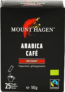 マウント ハーゲン オーガニックフェアトレード インスタントコーヒー スティック  50g(2g×25P)