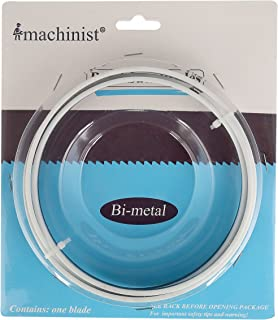 Imachinist S561214 M42 56-1/2-inch By 1/2-inch By 14tpi Bi-metal Bandsaw Blades For Soft Metal Cutting