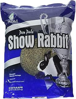 Adm Animal Nutrition 81657Aaapb 5 Lb Show Rabbit Feed, 1 Count