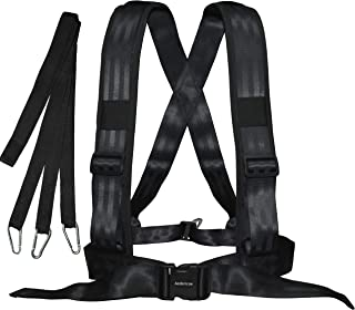 Aedericoe Sled Harness Workout Resistance Speed Training Trainer with Pull Strap