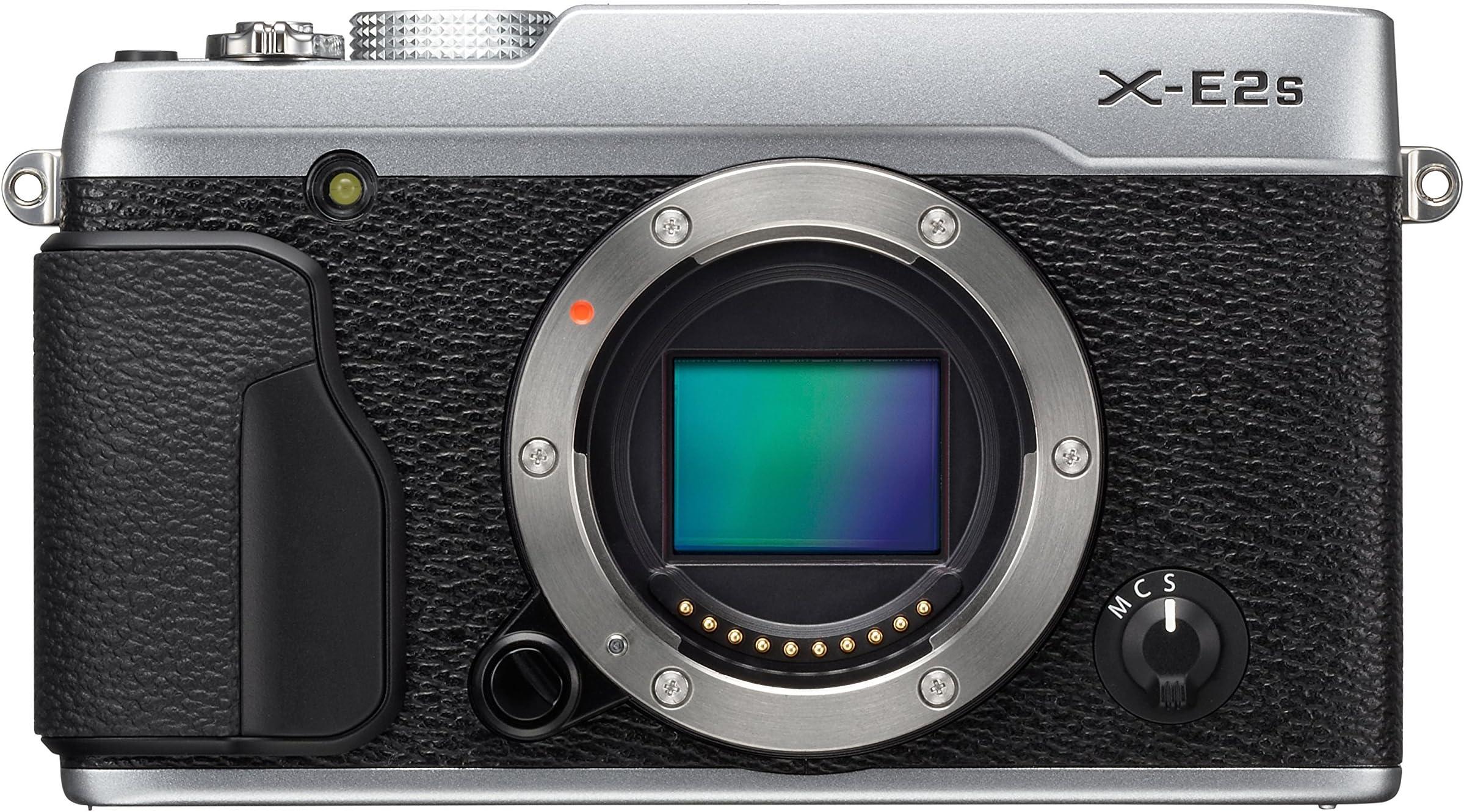 Fujifilm X-E2S Body Mirrorless Camera (Silver)