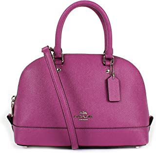 coach mini sierra satchel in crossgrain leather f57555
