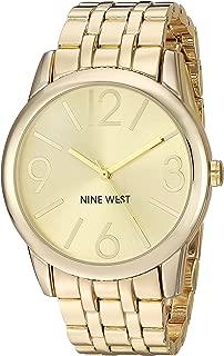 Nine West Goldtone Bracelet Watch with Sunray Dial
