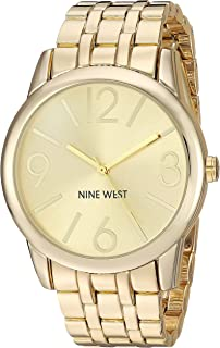 Goldtone Bracelet Watch with Sunray Dial