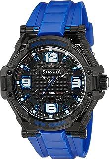 Sonata Ocean Series III Analog Multi-Colour Dial Unisex Watch -NH77029PP03C