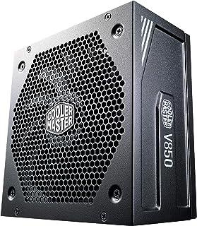 Cooler Master V850 Gold V2, UK Plug - 850W, 80 Plus Gold, Fully Modular, ATX Power Supply Unit, Quiet 135mm FDB Fan, Semi-...