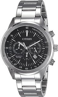 Citizen Men's AN8150-56E Silver Stainless-Steel Japanese Quartz Dress Watch