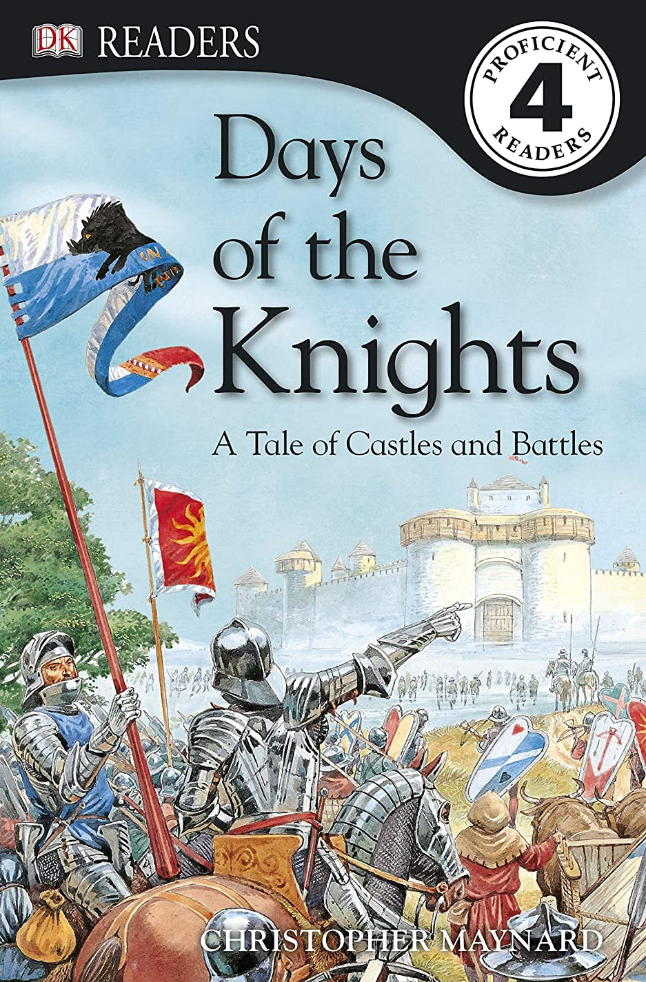 DK Readers L4: Days of the Knights: A Tale of Castles and Battles (DK Readers Level 4) (English Edition)