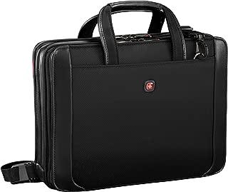 """Wenger Luggage Proxy 14"""" Zippered Laptop Presentation Padfolio, Black"""