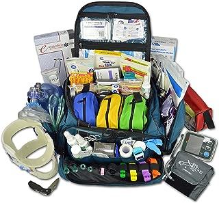 Lightning X Premium Stocked Modular EMS/EMT Trauma First Aid Responder Medical Bag + Kit