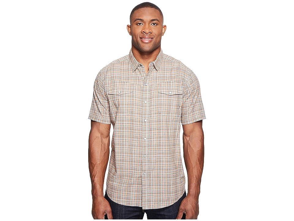 Columbia Big Tall Leadville Ridge Short Sleeve Shirt (Valencia Plaid) Men