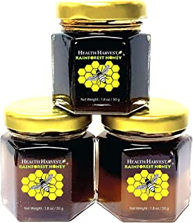 Tualang Honey 1.8oz x 3 Jars (Economy Tasting Pack: Black, Red & Yellow) | Multiple Awards-Winning | Total Activity 6+ to ...