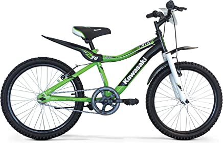"693309f92dd Kawasaki - Bicicleta para niño KBX 20"", 1 velocidad, verde"