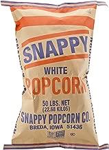 Snappy White Popcorn, 50 Pound Bag, GMO Free