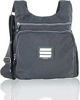 Crossbody Bags for Women City Nylon Lightweight Travel Purse Multi Pocket Shoulder Bag Handbags
