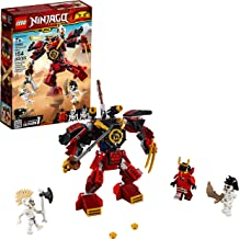 LEGO NINJAGO Legacy Samurai Mech 70665 Toy Mech Building Kit comes with NINJAGO Minifigures, Stud Shooters and a Toy Sword for Imaginative Play (154 Pieces)