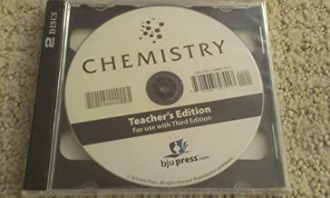 BJU Press Bob Jones Chemistry 3rd Third Edition Distance Learning Homeschool Teacher Edition CD