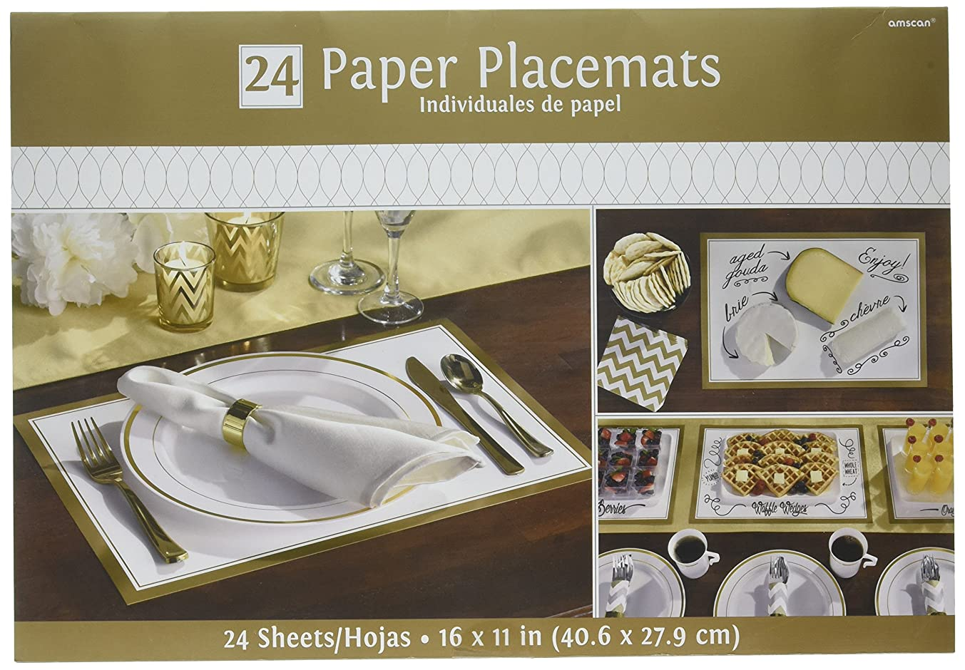 Amscan 670603.19 Placemats Party Decorations, 11