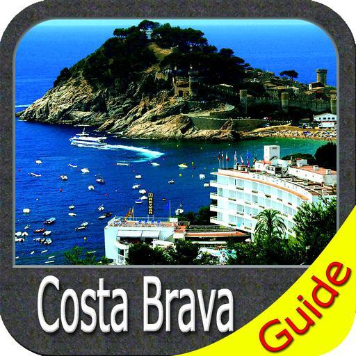 Costa Brava GPS Map Navigator