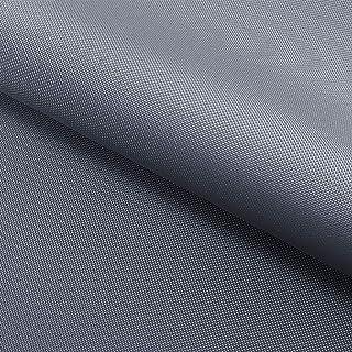 NOVELY Oxford 210D | Polyester | anschmiegsam nachgiebig | Meterware Segeltuch Silber Grau