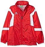 Erima Kinder Classic Team Regenjacke, rot/weiß, 152, 105615