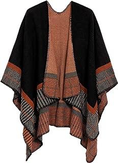 Best ladies poncho cape jacket shawl top Reviews