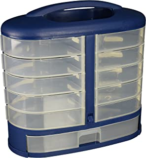 Pioneer 97824-01 Eleven See Through Bins, Drawer Cabinet, Hardware, Sewing, Craft, Scrapbooking Cabinet, Handle, Wall Mount